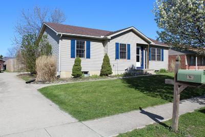 Preble County Single Family Home For Sale: 829 Oakland