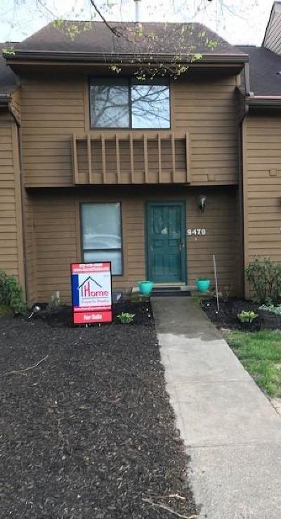 Blue Ash Condo/Townhouse For Sale: 9479 Hunters Creek Drive