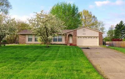 Liberty Twp Single Family Home For Sale: 6839 Millikin Road