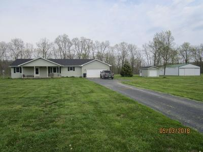 Bratton Twp OH Single Family Home For Sale: $169,900