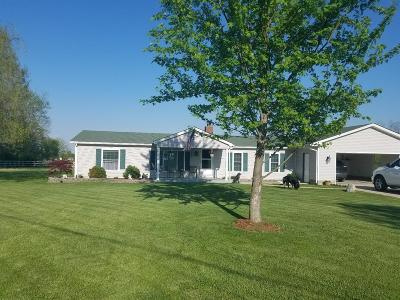 Preble County Single Family Home For Sale: 7600 S St Rt 503