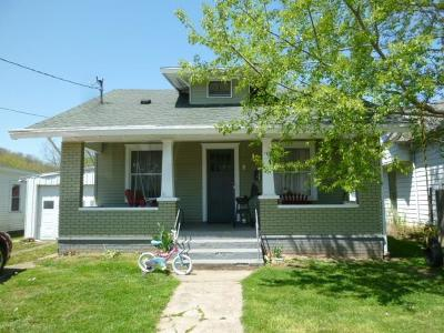 Manchester OH Single Family Home For Sale: $57,500