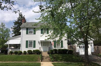 Hamilton Single Family Home For Sale: 401 Harrison Avenue