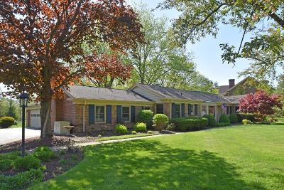 Indian Hill Single Family Home For Sale: 6160 S Clippinger Drive