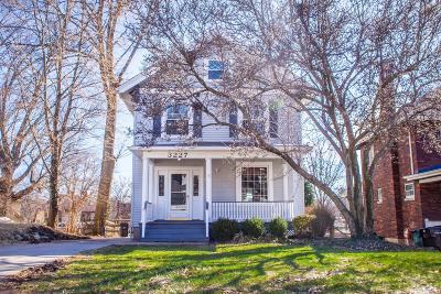 Cincinnati Single Family Home For Sale: 3227 Lookout Drive