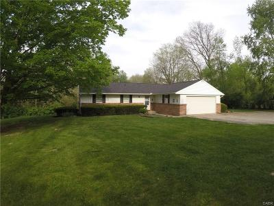 Preble County Single Family Home For Sale: 1068 Wolf Road