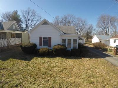Preble County Single Family Home For Sale: 3159 Upshur Northern Road