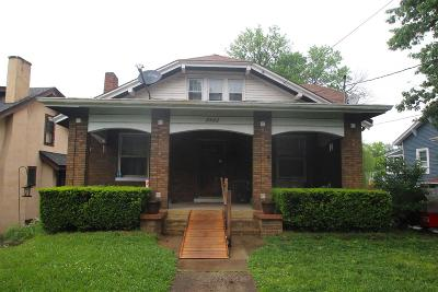 Norwood Single Family Home For Sale: 2420 Indian Mound Avenue