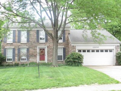 Sharonville Single Family Home For Sale: 12100 Crown Court