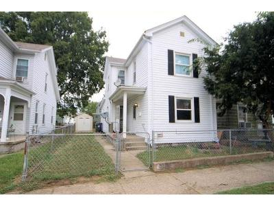 Hamilton Single Family Home For Sale: 1008 Vine Street