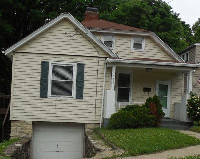 Cincinnati Single Family Home For Sale: 4121 Marburg Avenue