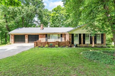 Hamilton County Single Family Home For Sale: 6100 Crittenden Drive