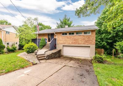 Cincinnati Single Family Home For Sale: 1225 Moonkist Court