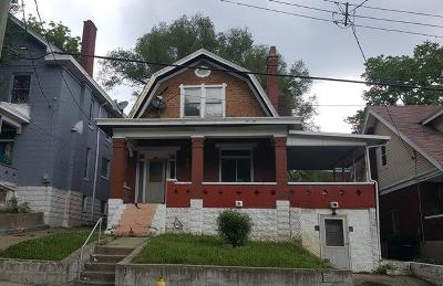 Cincinnati Single Family Home For Sale: 286 Dorchester Avenue