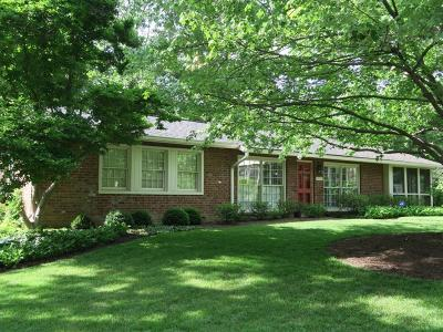 Cincinnati Single Family Home For Sale: 1920 Gregory Lane
