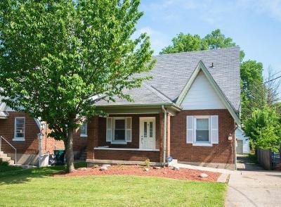 Cincinnati Single Family Home For Sale: 3346 Hanna Avenue
