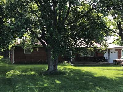 Liberty Twp Single Family Home For Sale: 4900 Mauds Hughes Road