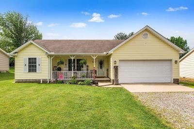 Preble County Single Family Home For Sale: 714 Brande Drive