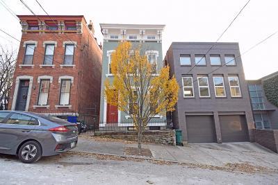 Cincinnati Single Family Home For Sale: 521 Milton Street