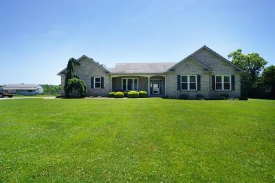 Warren County Single Family Home For Sale: 9405 Morrow Woodville Road