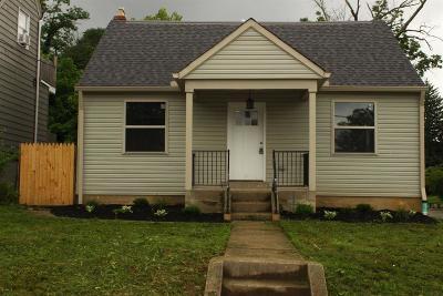 Cincinnati Single Family Home For Sale: 6502 Hedge Avenue