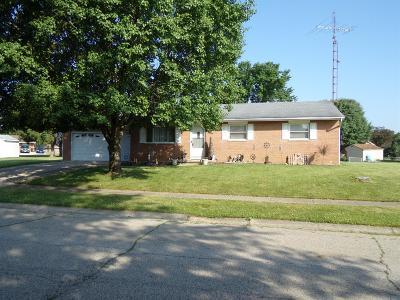 Preble County Single Family Home For Sale: 214 Eaton Avenue