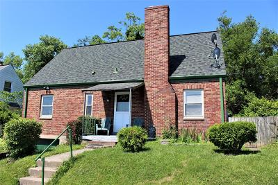 Single Family Home For Sale: 3639 Old Red Bank Road