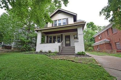 Single Family Home For Sale: 3415 Linwood Avenue