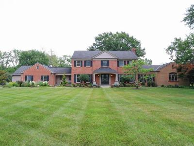 Indian Hill Single Family Home For Sale: 5180 Ivyfarm Road