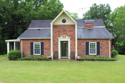 Hamilton Single Family Home For Sale: 3000 Morgan Ross Road