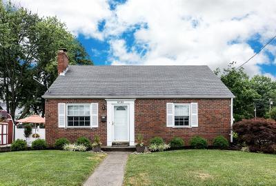 Blue Ash Single Family Home For Sale: 9395 Cardinal Court