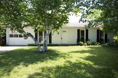 Oxford Single Family Home For Sale: 811 Clover Circle