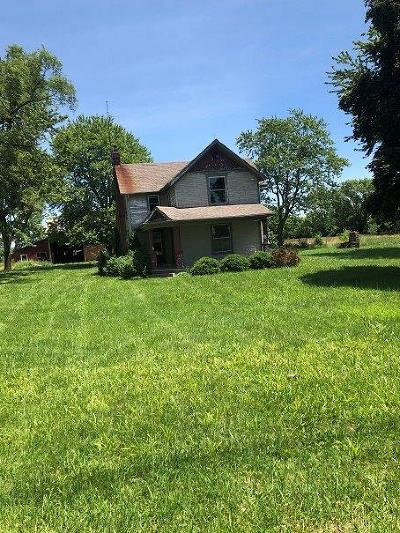 Preble County Single Family Home For Sale: 9826 N St Rt 503