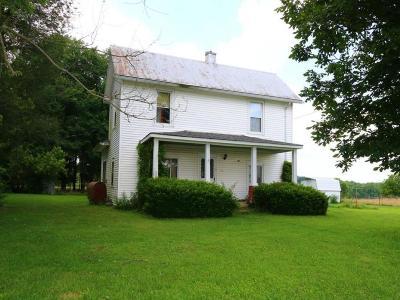 Wayne Twp OH Single Family Home For Sale: $39,000