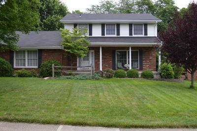 Hamilton Single Family Home For Sale: 510 Sanders Drive