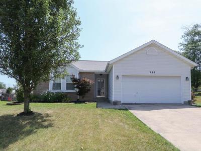 Hamilton Single Family Home For Sale: 316 Mollie Drive