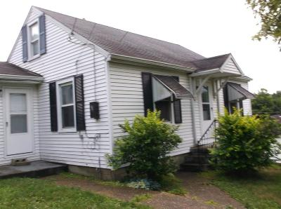 Manchester OH Single Family Home For Sale: $49,000