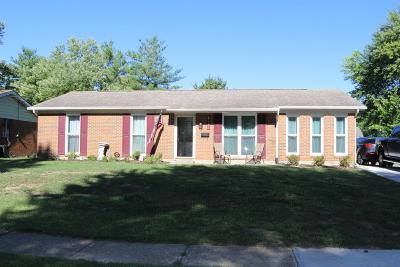 Fairfield Single Family Home For Sale: 4751 Bradley Drive