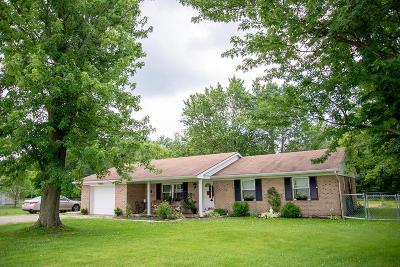 Oxford Single Family Home For Sale: 6313 Stillwell Beckett Road