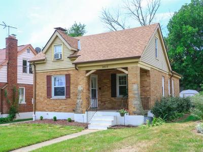 Cheviot Single Family Home For Sale: 3823 Meyerfeld Avenue