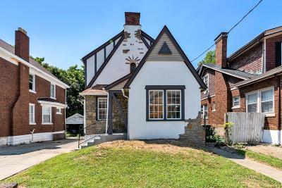 Cincinnati OH Single Family Home For Sale: $145,000