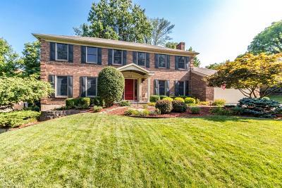 Blue Ash Single Family Home For Sale: 3862 Blackwood Court