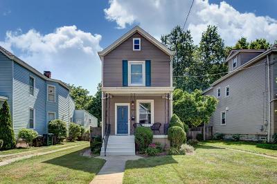 Cincinnati Single Family Home For Sale: 3808 Mt Vernon Avenue