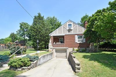 Cincinnati Single Family Home For Sale: 6466 Hammel Avenue