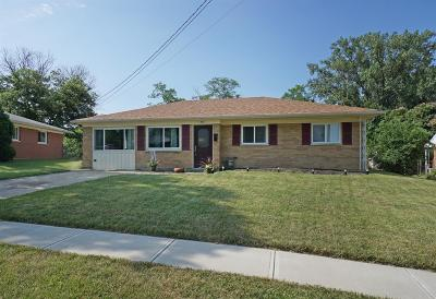 Sharonville Single Family Home For Sale: 10899 Lemarie Drive