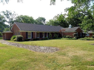 Hamilton County Single Family Home For Sale: 7676 Greenfarms Drive