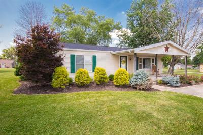 Preble County Single Family Home For Sale: 400 S Ada Doty Street