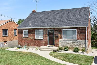 Green Twp Single Family Home For Sale: 3454 Jessup Road