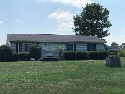 Warren County Single Family Home For Sale: 2371 Harlan-Carroll Road