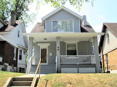 Cincinnati OH Single Family Home For Sale: $118,000